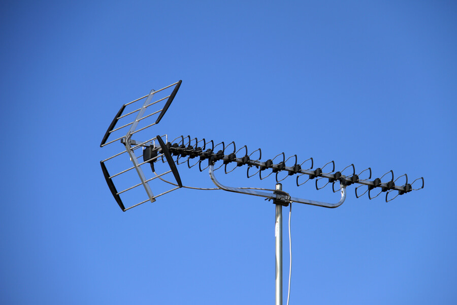 antenne TV rateau